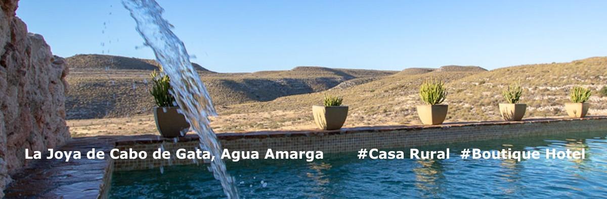 Beautiful small Boutique Hotel for Sale in Agua Amarga, a popular village on the coast of Almeria, in the Natural Park Cabo de Gata Nijar
