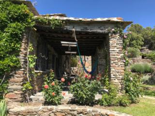 Cortijo en Capileira jardin porche