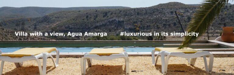 Villa Casa Cortijo in the stunning Natural Park Cabo de Gata, close to Agua Amarga For Sale