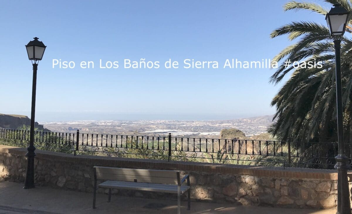 Stunning view from Los Banos de Sierra Alhamilla